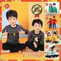 Piyama Anak Kekinian/ Baju Tidur Anak 1-10tahun / bahan Premium import