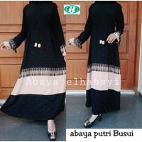 Abaya Gamis Arab hitam/abaya gamis turkey / abaya arab / abaya murah