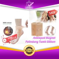 Anklepad Magnet - Pelindung Tumit Silikon Magnetic Terapi 0693