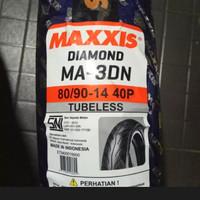 BAN MOTOR VARIO 125 150 BEAT MIO MAXXIS MA-3DN 80/90-14 TUBELESS