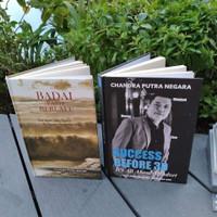 Buku BADAI PASTI BERLALU | SUCCESS BEFORE 30 +TTD Chandra Putra Negara