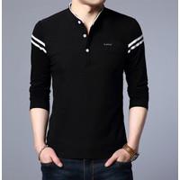 Baju Kaos Pria Magnum Bahan Cotton Combed Lengan Panjang Model Terbaru