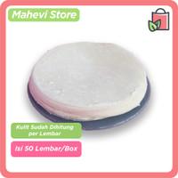 Kulit Dimsum / Gyoza / Dumpling Premium Hand Made 100% Halal Isi 50
