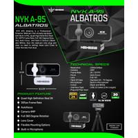 NYK A95 Albatros Quad HD Gaming Webcam Autofocus Professional