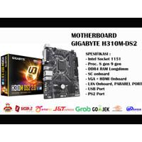 Motherboard GIGABYTE H310M-DS2 2.0 Rev1.0