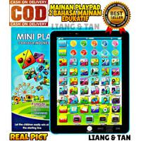 PROMO Mainan Anak Edukasi Mini Playpad Ipad Anak Muslim 2 Bahasa LED