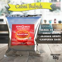 Kingmix Cabai Bubuk Super Pedas 50g
