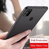 Samsung Galaxy A32 2021 Casing Soft Case Slim Matte Warna Soft Back