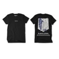 Freedom Scouting Legion Attack On Titan Kaos T-Shirt