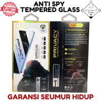 Anti Spy Tempered Glass AntiSpy Iphone 6 7 8 Plus X XS XR 11 PRO MAX - IPHONE 6 6S