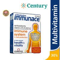 Vitabiotics Immunace Multivitamin Vitamin C A E D3 30 Tablet /Suppleme