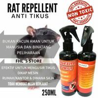 Pengusir Tikus/Rat Repellent Parfum Tikus/Cairan Pembasmi Anti Tikus