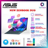 ASUS ZENBOOK DUO UX482EG i5 1135G7 8GB 512SSD MX450 2GB FREE OFFICE
