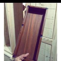asbak kayu panjang besar-asbak ukuran 30x12