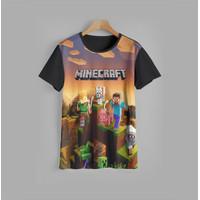 baju karakter anak MINECRAFT V3 kaos anak MINECRAFT V3 (1-12 tahun) - 1-2 tahun