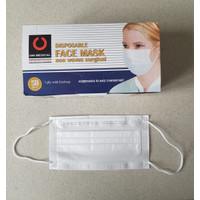 Masker medis earloop 3ply Warna - Unimed