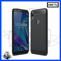 Case Asus Zenfone MaxPro M1 Carbon Rugged Crack Armor Full Protection
