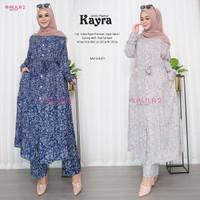 Baju Muslim Setelan Wanita Atasan Dan Celana Kayra Jumbo Set