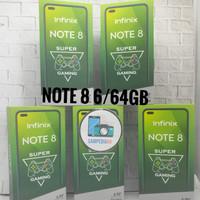 Infinix Note 8 6/64GB Garansi Resmi - Silver
