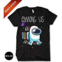 Baju Among Us Kaos Anak Cowok Dewasa Kaos Game Trend #REG-431