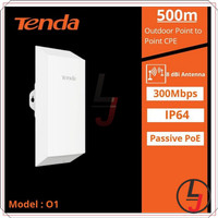 Access Point Outdoor Tenda O1 CPE P2P Point to Point AP WISP 01