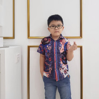 Kawai - Addis Boy Shirt / Kemeja Batik Anak Laki-Laki