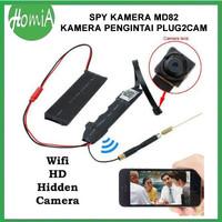 (CB033) IP Cam Mini Plug2cam Hd 720p CCTV Wifi Spy Kamera Tersembunyi