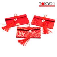 Tokyo1 Amplop Lebar Angpao kain Lux Batu Jade Imitasi (148751)