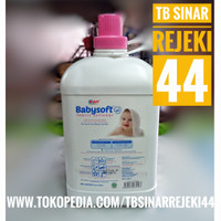 YURI BABYSOFT 3.7 Liter Softener Pewangi Pelembut Pakaian ALL COURIER
