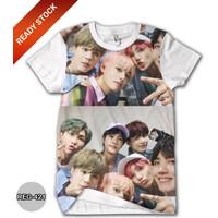 Baju BTS Anak Perempuan Wanita Kaos BTS Dewasa #REG-421