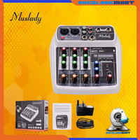 Audio Mixer 4 Channel Muslady