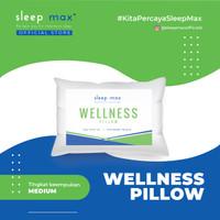 Sleep Max Pillow Wellness/Bantal Dengan Tingkat Keempukan Medium