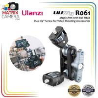 Ulanzi UURIG R061 Magic Arm with Dual Ball Head & 1/4 Screw