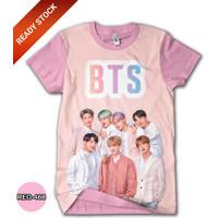 Baju BTS Anak Perempuan Wanita Kaos BTS Dewasa #REG-468