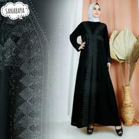 Abaya hitam dubai turkey pakistan - M