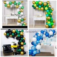 Paket Dekorasi Balon Metalik Doff Chrome 12inch