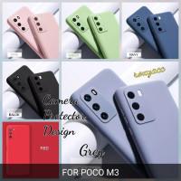 softcase poco M3 silicon bahan lentur case anti noda cover poco M3