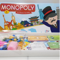 Mainan Anak Permainan Papan Monopoly All Around The World