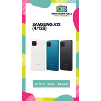 Samsung Galaxy A12 4/128 GB Garansi Resmi SEIN - Hitam BIRU PUTIH