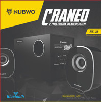 Nubwo NS-38 Craneo Speaker Bluetooth subwoofer 2.1, USB, SD/MMC, AUX