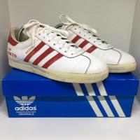 Adidas Gazelle Tokyo White-Red Shoes City Series Vintage