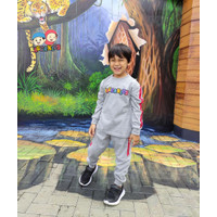 Raggakids Baju Olahraga Set Anak Laki-laki Abu Misty