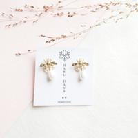 Ready Stock Korean Drama Bee Earrings Anting Lebah K-Drama