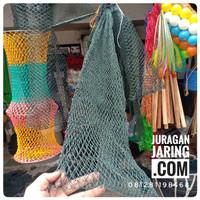 Jaring Korang ikan tanpa ring, Koja ikan bahan pe, kuat dan murah