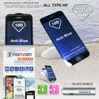 ANTI BLUELIGHT TEMPERED GLASS 10D FULL COVER FOR SAMSUNG A7 2018
