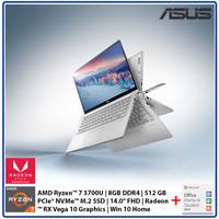 Asus Zenbook Flip UM462DA Ryzen 7 3700U 8GB 512GB SSD 14 FHD Win+OHS