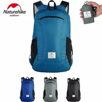Ransel Lipat Tas Naturehike NH17A012-B folding bag nylon ultralight