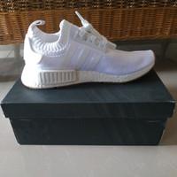 Sepatu Adidas NMD R1 White Gum Original