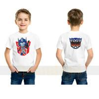 kaos baju anak transformer optimus prime/Logo/VIRAL/terbaru01