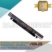 Baterai Original Laptop Asus X550 X550J X550JK X550JX A41-X550A